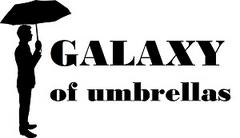 GALAXY of umbrellas