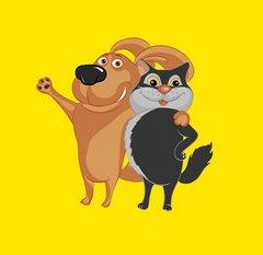 Сеть зомагазинов Кот и пес