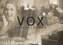Vox, ресторан итальянской кухни