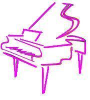 Розовый рояль