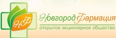 Логотип компании Новгородфармация