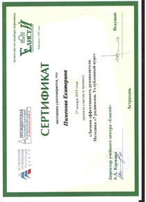 Сертификат 7 радикалов