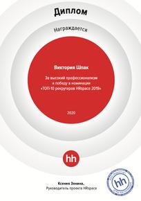 Топ-10 самых эффективных рекрутеров HRSpace