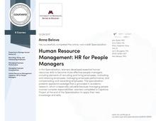 Human Resource Management by University of Minnesota