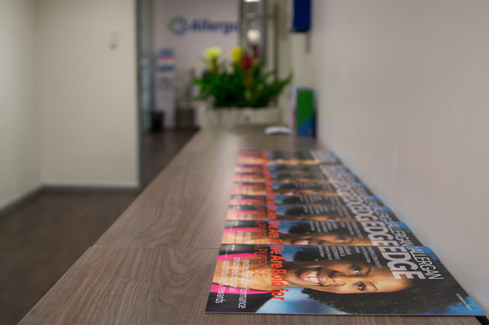 Allergan: построй яркое будущее в международной компании
