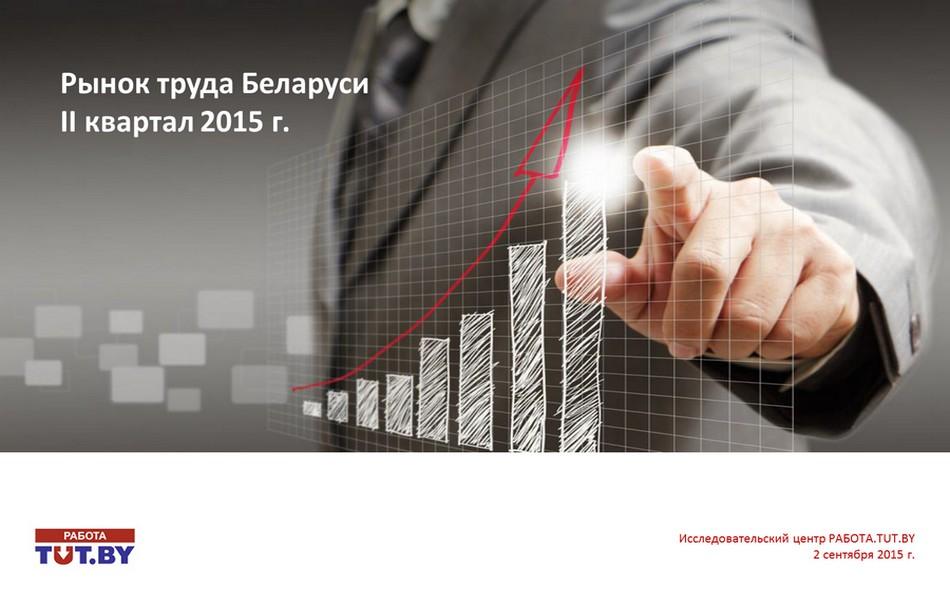 Рынок труда Беларуси. Итоги 2 кв. 2015 г.