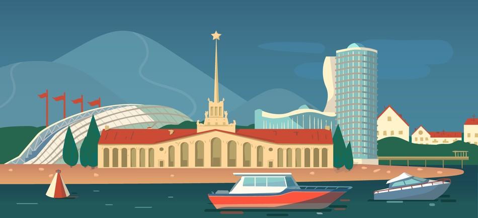 Сочи: как работают в городе-курорте