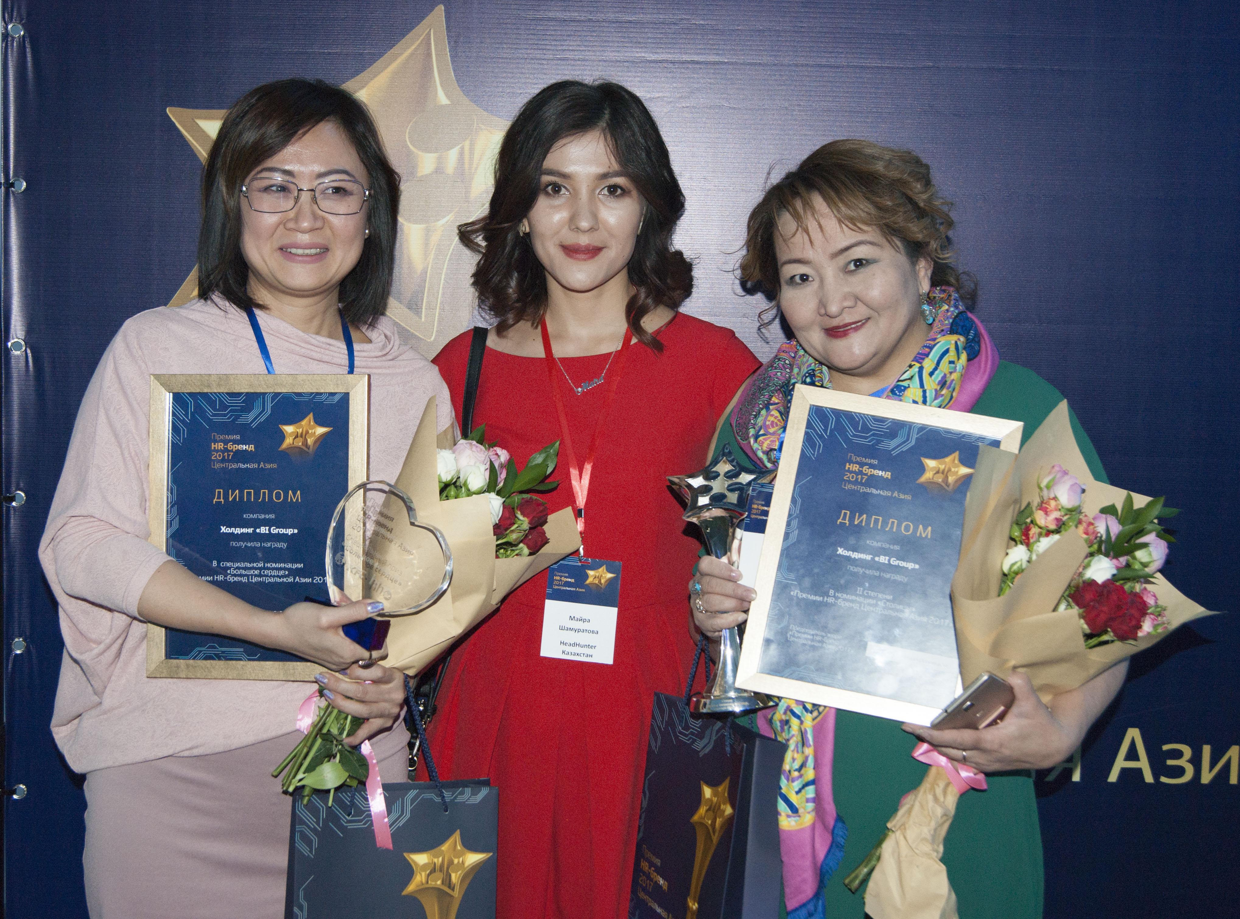 Названы имена лучших работодателей Казахстана, Кыргызстана и Узбекистана в 2017 году