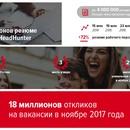 HeadHunter: рекорды и достижения 2017 года