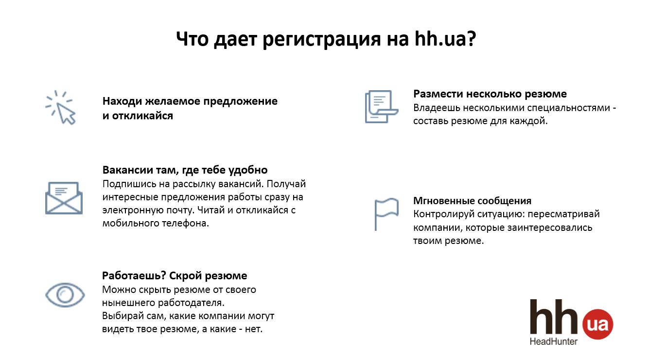 Твои возможности с hh.ua: пассивный и активный поиск работы