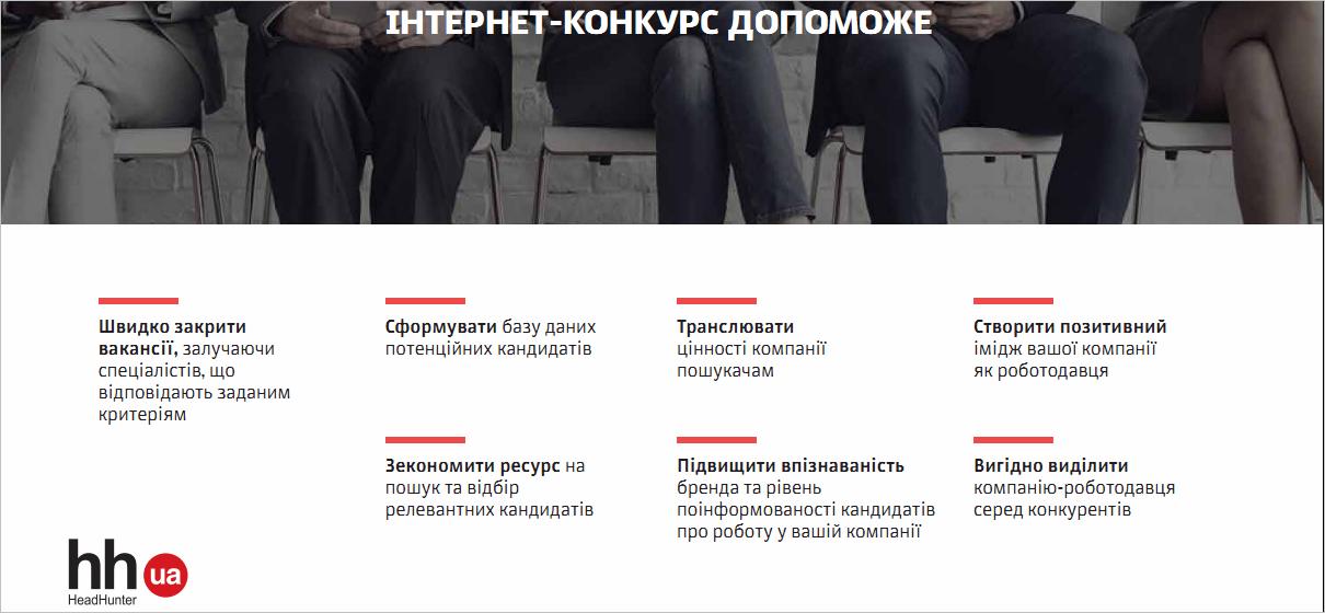 Інтернет-конкурс від HeadHunter Україна – гейміфікація в дії