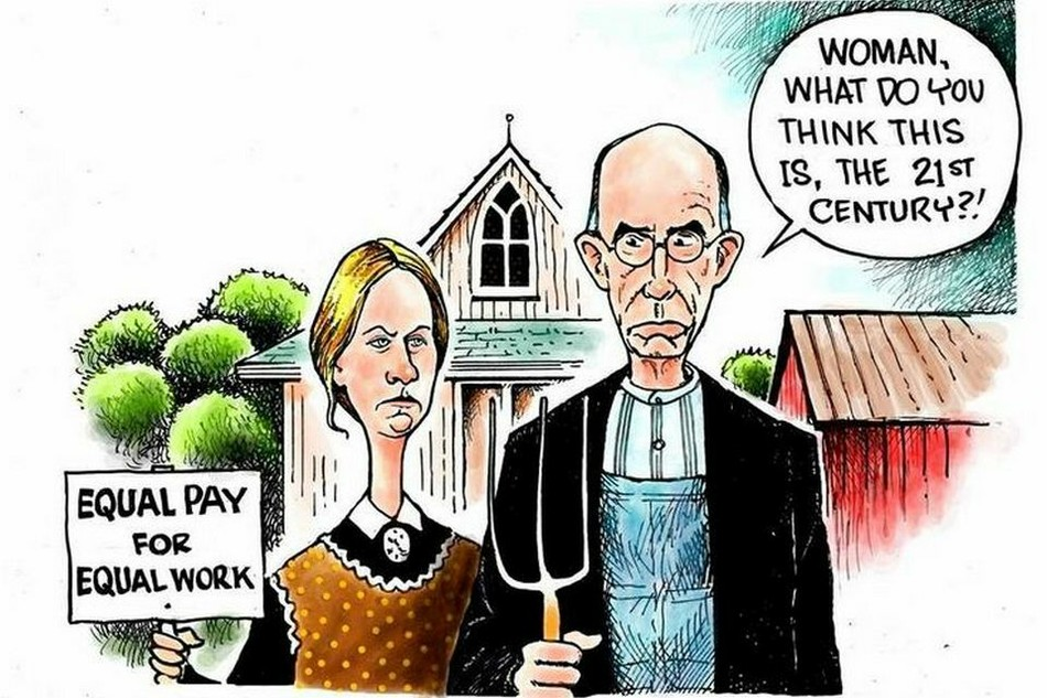 Принцип равной оплаты труда женщин и мужчин в Украине