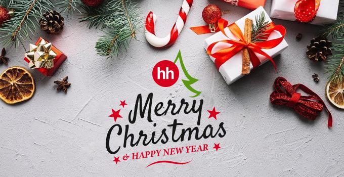 С Рождеством Христовым и Новым 2019 годом!