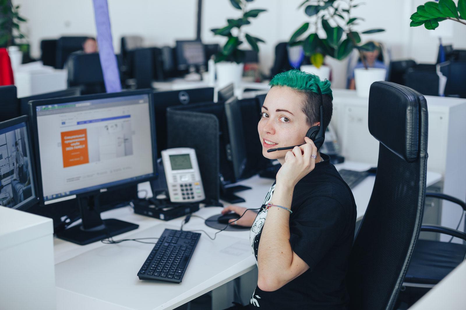 Центр поддержки клиентов ИКЕА: высокий уровень счастья