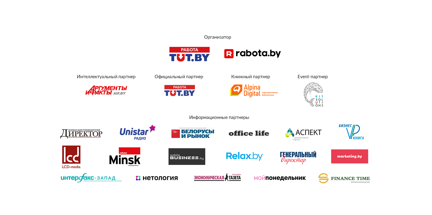 Объявлены победители конкурса «Премия HR-бренд Беларусь 2020»